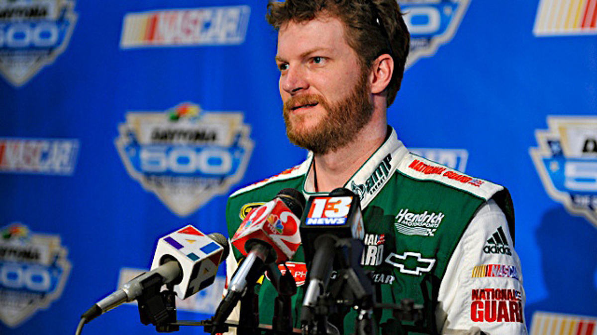 Daytona recap: Earnhardt scores runner-up finish