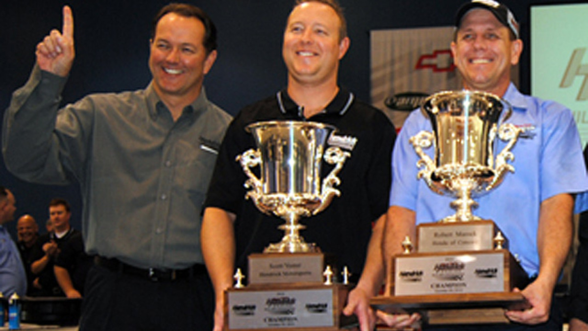 Duo pulls off record time to win Randy Dorton Hendrick Engine Builder Showdown