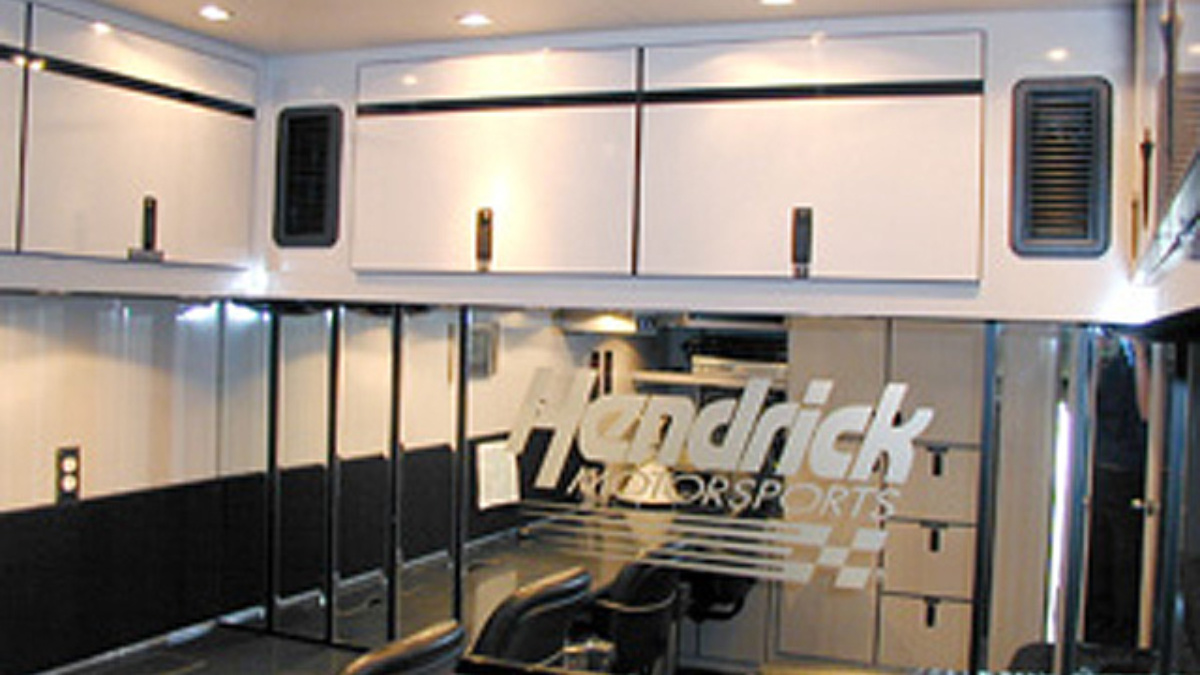 Inside The Hendrick Race Transporters