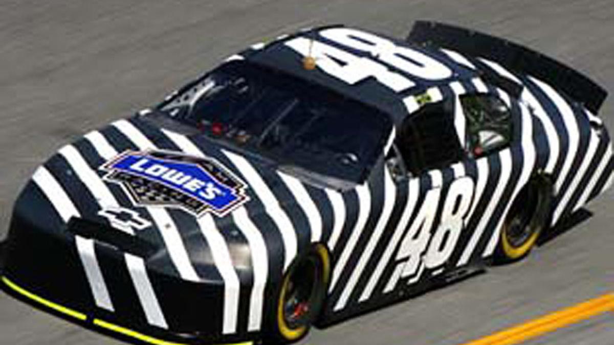 Johnson Testing Daytona, Looking Forward to '07