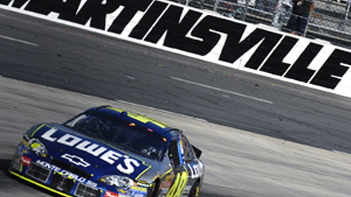 Johnson Wins at Martinsville
