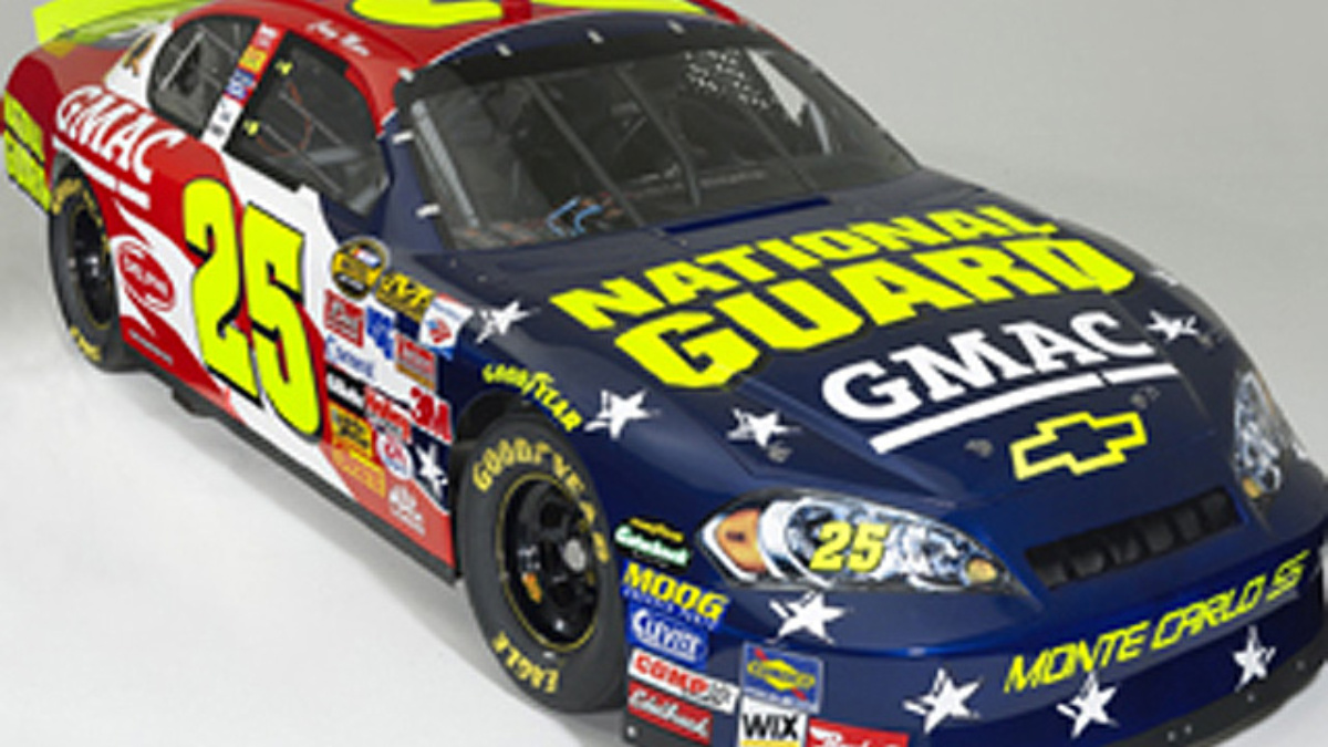 National Guard Joins GMAC on No. 25 Chevrolets