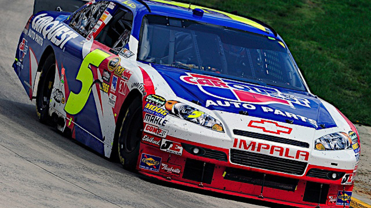 New Hampshire qualifying: Martin, Johnson in top 10