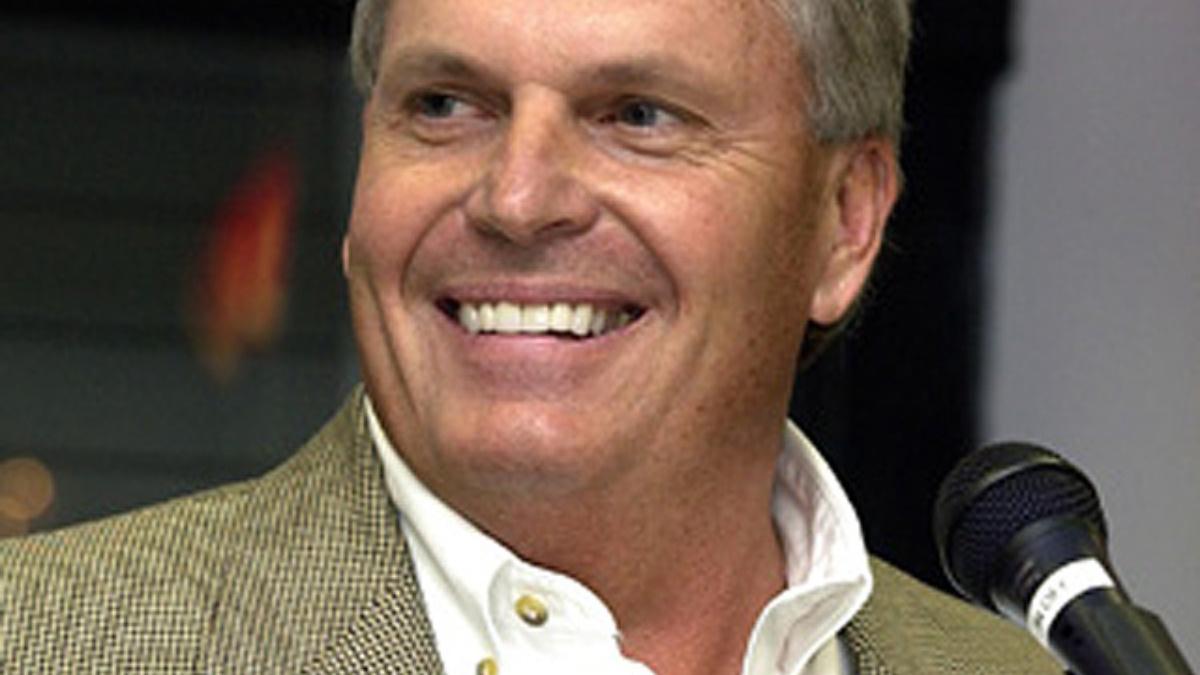 Rick Hendrick Receives 2005 Papa Joe Hendrick Award