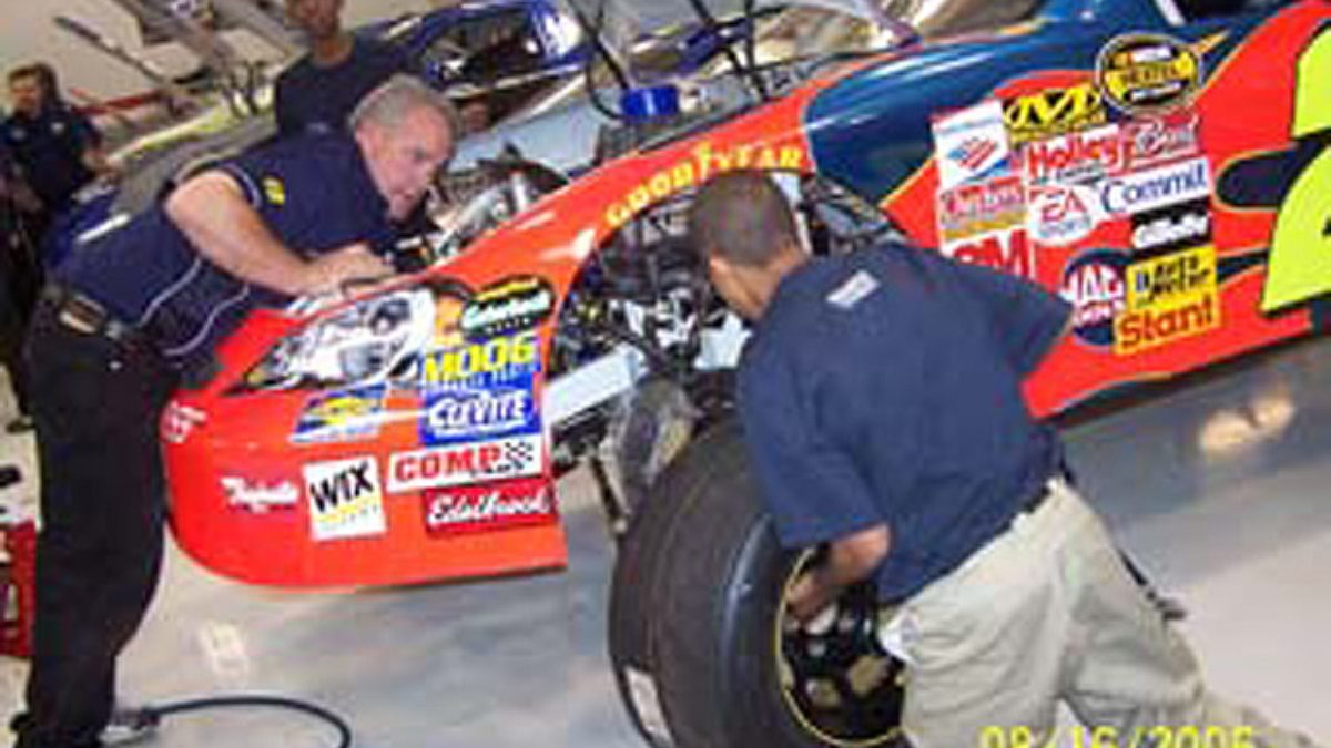 Urban Youth Racing School Students Visit Hendrick Motorsports