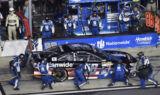 Earnhardt hits Victory Lane at Daytona