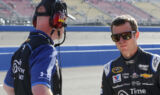 Shots of the Race: Kahne at Fontana