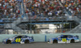 Shots of the Race: Johnson at Homestead-Miami