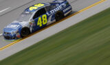 Shots of the Race: Johnson at Talladega