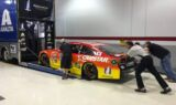A look inside as teams prepare to race under the lights