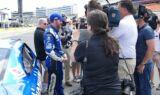 Earnhardt gives Davis a taste of NASCAR