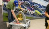 Earnhardt celebrates Daytona win with Victory Bell