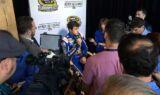 Behind the Scenes: Elliott, Johnson at Chase Media Day