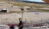Behind the Scenes: Earnhardt, Bowman visit Talladega