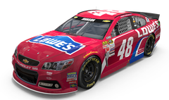 No. 48 Lowe's Red Vest Chevrolet SS