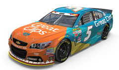 No. 5 Great Clips/Shark Week Chevrolet SS