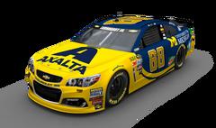 No. 88 Axalta - University of Michigan Chevrolet SS