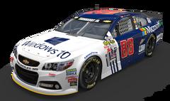 No. 88 Microsoft Chevrolet SS