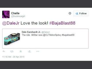 Fans React: Dale Earnhardt Jr.'s #BajaBlast88