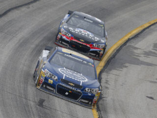 Earnhardt: 'We had a great car ... just not enough to beat Jimmie'