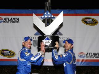 'Phenomenal' first 25 laps set tone for Johnson's Atlanta victory