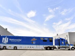 'Hammerhead' Earnhardt hitches a ride in No. 88 hauler to Daytona
