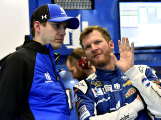 Greg Ives talks Earnhardt, Twitter and family in #DashChat with fans