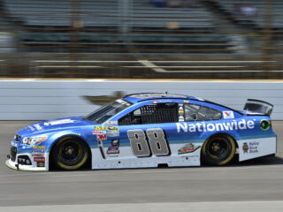 Earnhardt leads five Hendrick Motorsports cars in Indianapolis qualifying