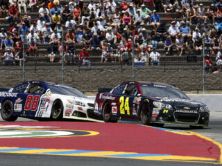 Decisions during final caution define Sunday's race at Sonoma for all four teammates