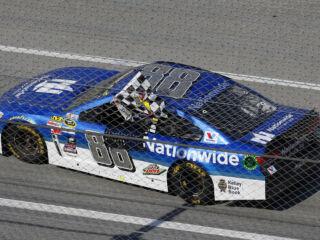 Race Recap: Earnhardt earns first win of the season at Talladega
