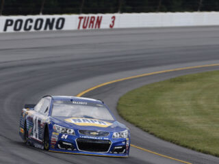Elliott to take Pocono green flag in eighth