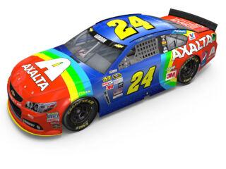 Rainbow returns for Jeff Gordon