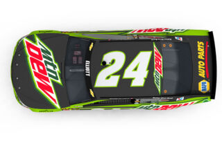 Elliott's new Mountain Dew scheme revealed