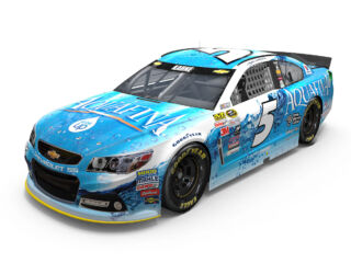Pocono paint schemes include a new debut