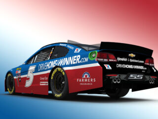 Kahne's Drive Home a Winner paint scheme revealed