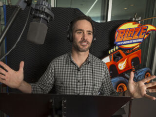 Kahne, Elliott and Johnson get animated for Nickelodeon's 'Blaze and the Monster Machines'