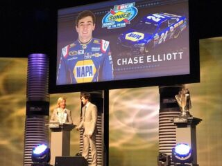 Elliott named 2016 Sunoco Rookie of the Year