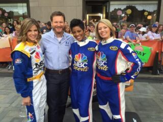 Dale Earnhardt Jr. spends whirlwind morning in New York