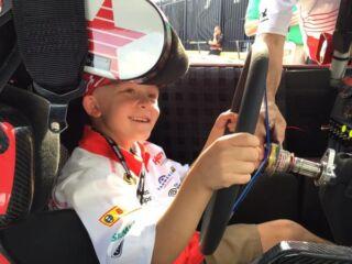 Honorary crew chief Braylon Beam inspires to #JustKeepDancing