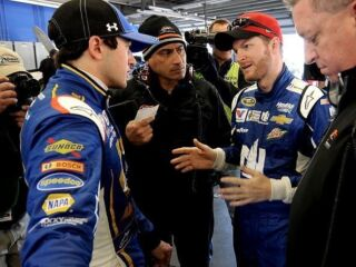 If he could be any athlete in the world, Earnhardt picks a teammate
