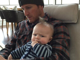 For Kahne, fatherhood has 'been a blast'