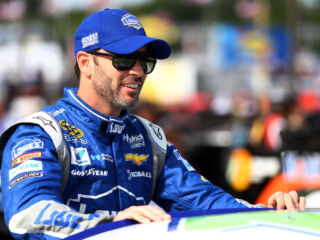 Johnson loves 'really cool, unique look' of No. 48 Lowe's throwback