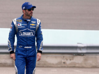For Johnson, Las Vegas tire test a chance to 'knock the rust off'