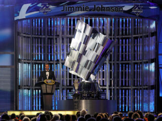 Johnson delivers memorable awards banquet speech