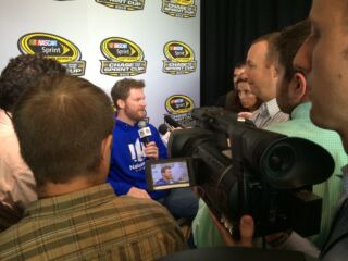 Behind the Scenes: Gordon, Earnhardt at Chase Media Day