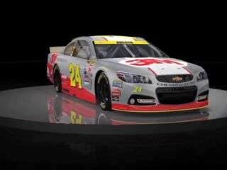 Bank of America 500 paint schemes include a debut and a throwback