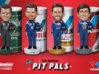 Meet the Pit Pals Bobbleheads thanks to Valvoline