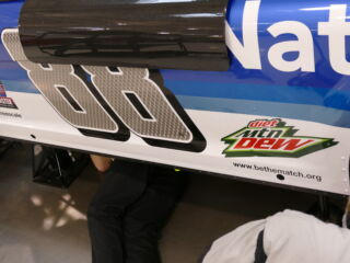 Teams prepare to shake n' bake at Talladega