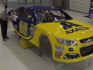 Watch Axalta's University of Michigan ride come to life