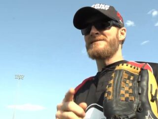 Go on the field with Dale Earnhardt Jr.